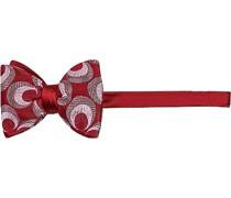 Krawatte Schleife, Seide, rot