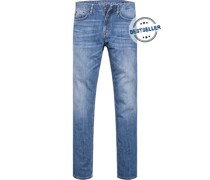 Blue-Jeans, Modern Fit, Baumwoll-Stretch
