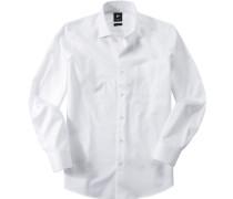 Hemd, Popeline, gestreift