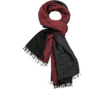 Schal, Wolle-Alpaka, -schwarz