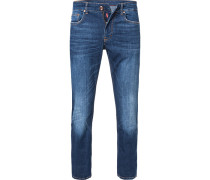 Jeans, Modern Fit, Baumwolle T400 10 oz