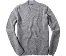 Pullover, Schurwolle, meliert