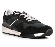 Schuhe Sneaker, Kalb- und Rindleder
