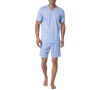 Schlafanzug Herren, Baumwolle