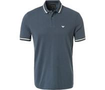 Polo-Shirt Polo, Baumwoll-Piqué, tintenblau