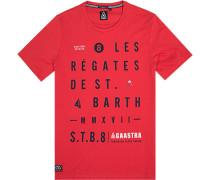 T-Shirt, Baumwolle, hellrot
