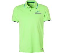 Polo-Shirt Polo, Baumwoll-Piqué, leuchtgrün
