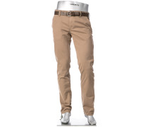 Hose Chino Lou-J, Regular Slim Fit, Baumwolle T400®