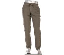Hose Cosy Pants House, Regular Slim Fit, Leinen
