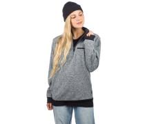 Antiseries Modular 1/4Zip Sweater light grey heat