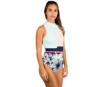 Pop Surf Fashion Swimsuit blue light rain daze smal