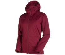 Chamuera So Thermo Hooded Softshell merlot