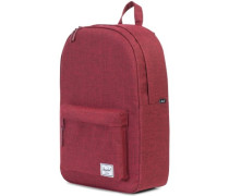 Classic Mid-Volume Backpack winetasting crosshatch