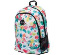 Proschool Flora Backpack white