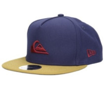 Stuckles Snap Cap navy blazer