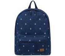Sugar Baby Canvas Backpack dress blue printed anchor