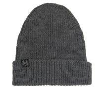 Basic Knitted Beanie steel