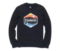 Dusk Crew Sweater flint black