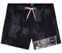 Textured Boardshorts black aop