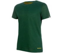 Crashiano T-Shirt dark teal melange-citron