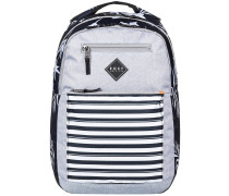 Here You Are 2 Backpack true black full bicolys