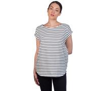 Bell Stripe T-Shirt navy blue
