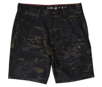 Surftrek Cargo Shorts black camo