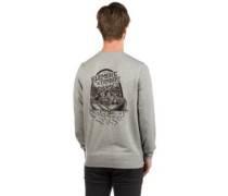 Roar N Row Crew Sweater grey heather