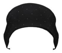 Merino Revy Reversible Headband black birdseye
