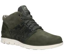 Bradstreet Half Cab Shoes dark green nubuck