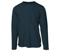 Pyjam T-Shirt LS midnight navy