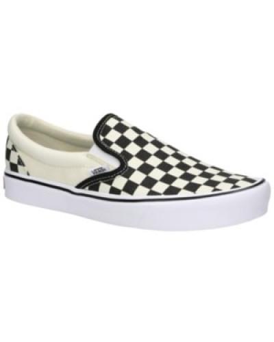 Checkerboard Light Slip-Ons checkerboard