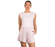 Short Sweat Overall chalk pink