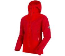 Masao Hs Hooded Outdoor Jacket magma-dark magma