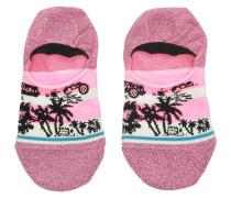 Harbor No Show Socks pink