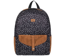 Carribean Backpack true black dots for days
