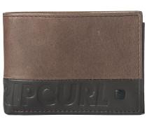 Undertow RFID Slim Wallet brown