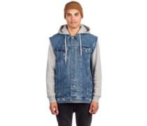 Sidecar Denim Jacket blue grey