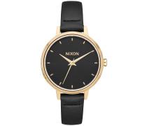 The Medium Kensington Leather black