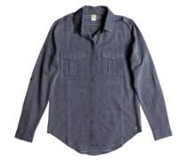 Military Influence Stripe Shirt LS dress blues