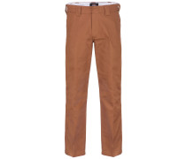 Cotton 873 Pants brown duck
