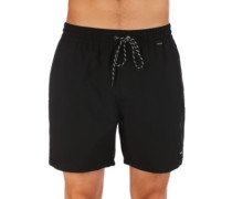 """One And Only Volley 17"""" Boardshorts black"""