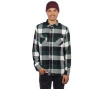 Box Flannel Shirt LS darkest spruce