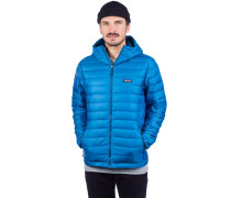 Down Sweater Hoody Jacket balkan blue