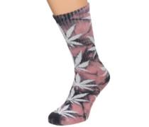 Crystal Wash Plantlife Socks coral haze
