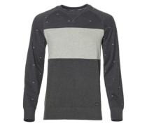 Cross Step Sweater blue