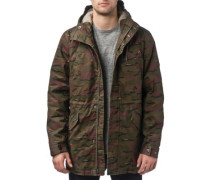Goodstock Thermal Fishtail Jacket dusty olive camo
