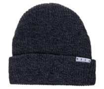 Fold Heather Beanie charcoal
