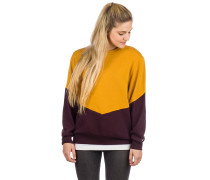 Luv Sweater gold aubergine