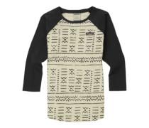 Bel Mar Raglan T-Shirt LS canvas bogolanfini